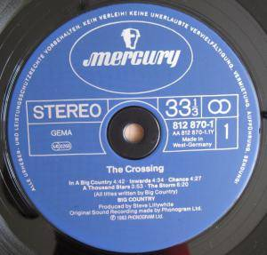 Big Country: The Crossing (LP) - Bild 5