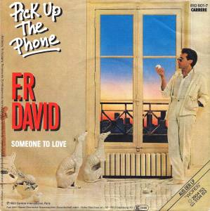 Cover - F.R. David: Pick Up The Phone