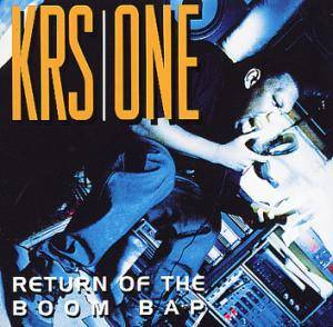 KRS-One: Return Of The Boom Bap - Cover