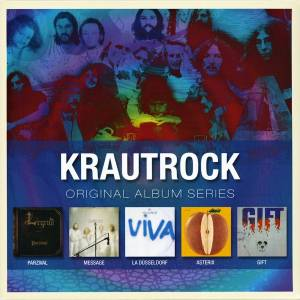 Cover - Message: Original Album Series - Krautrock