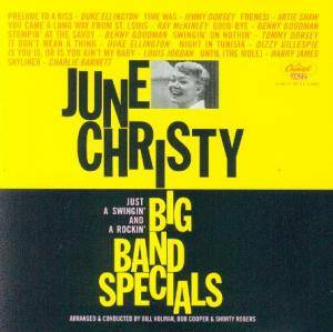 Cover - June Christy: Big Band Specials