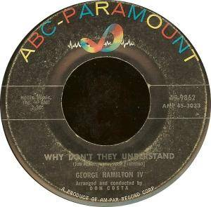 Cover - George Hamilton IV: Why Don't They Understand