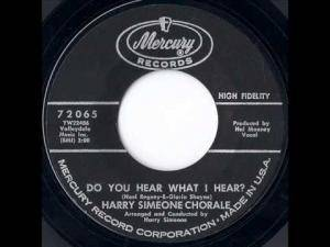 Cover - Harry Simeone Corale, The: Do You Hear What I Hear