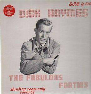 Cover - Dick Haymes: Fabulous Forties, The