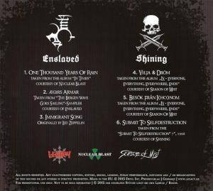Enslaved / Shining: Shining On The Enslaved (Split-Mini-CD / EP) - Bild 4