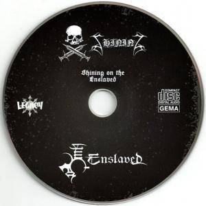 Enslaved / Shining: Shining On The Enslaved (Split-Mini-CD / EP) - Bild 5