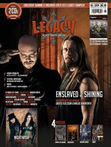 Enslaved / Shining: Shining On The Enslaved (Split-Mini-CD / EP) - Bild 9