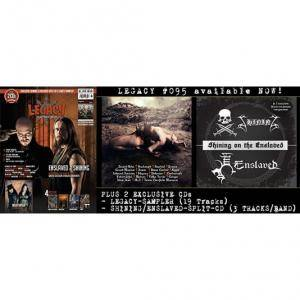 Enslaved / Shining: Shining On The Enslaved (Split-Mini-CD / EP) - Bild 10
