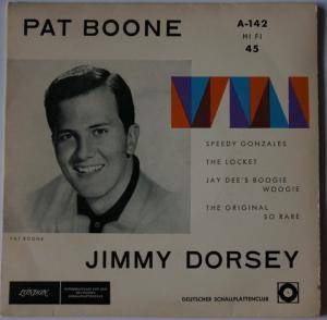 Cover - Jimmy Dorsey: Speedy Gonzales / The Locket / Jay Dee´s Boogie Woogie / The Original So Rare