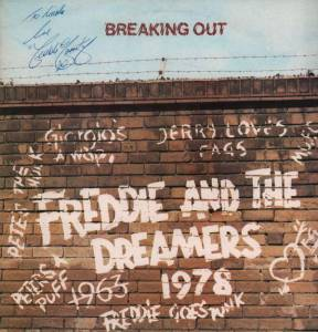 Cover - Freddie & The Dreamers: Breaking Out