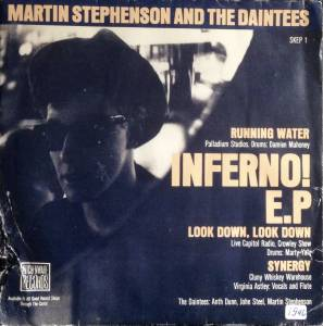 Cover - Martin Stephenson & The Daintees: Running Water