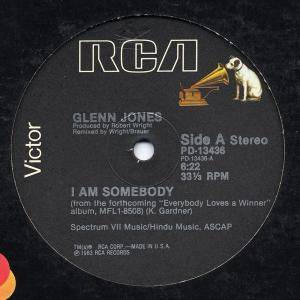 Cover - Glenn Jones: I Am Somebody