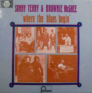 "Cover - Sonny Terry & Brownie McGhee: ""Where The Blues Begin"""