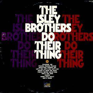 Cover - Isley Brothers, The: Isley Brothers Do Their Thing, The