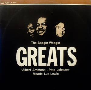Cover - Meade Lux Lewis: Boogie Woogie Greats, The