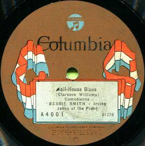 Cover - Bessie Smith: Jail-House Blues