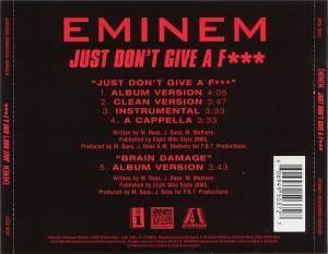 Eminem: Just Don't Give A Fuck (Single-CD) - Bild 2