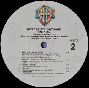 Nitty Gritty Dirt Band: Hold On (Promo-LP) - Bild 4