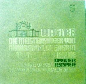 Richard Wagner: Bayreuther Festspiele - Cover