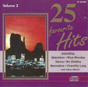 25 Favourite Hits - Volume 3 - Cover