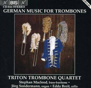 Cover - Johann Rudolph Ahle: Triton Trombone Quartet: German Music For Trombones