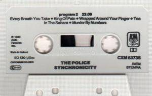 The Police: Synchronicity (Tape) - Bild 4
