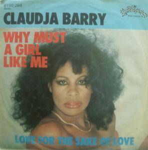 Cover - Claudja Barry: Why Must A Girl Like Me