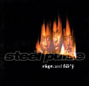 Cover - Steel Pulse: Rage And Fury