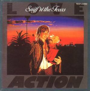 Cover - Sniff 'n' The Tears: Love/Action / Ride Blue Divide