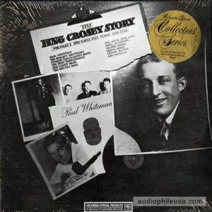 Bing Crosby: Bing Crosby Story Volume I: The Early Jazz Years, 1928-1932, The - Cover