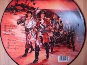 Running Wild Under Jolly Roger Pic Lp 2015 Bootleg