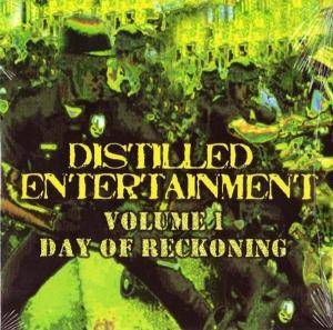 Cover - Vengince: Distilled Entertainment Volume One - Day Of Reckoning
