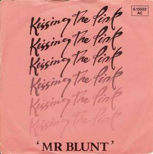 Kissing The Pink: Mr Blunt - Cover