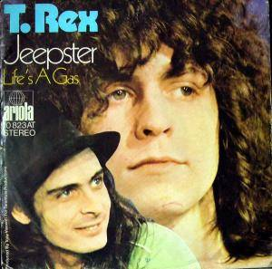 T. Rex: Jeepster - Cover