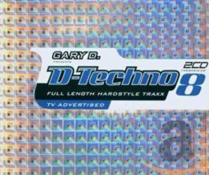 Cover - DJ Vortex: Gary D. Presents D-Techno 8