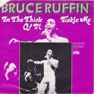 Cover - Bruce Ruffin: In The Thick Of It