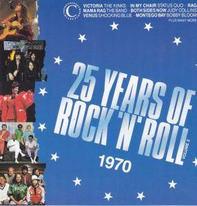 25 Years Of Rock'n'Roll 1970 Volume 2 - Cover