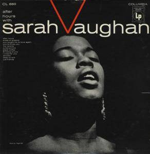 Cover - Sarah Vaughan: After Hours With Sarah Vaughan