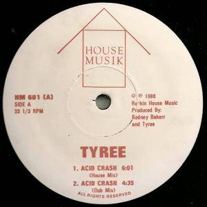 Cover - Tyree: Acid Crash / Red Hot