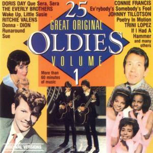 25 Great Original Oldies - Cover