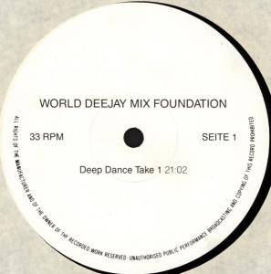 Cover - DJ Deep: Deep Dance Take 1 & 2
