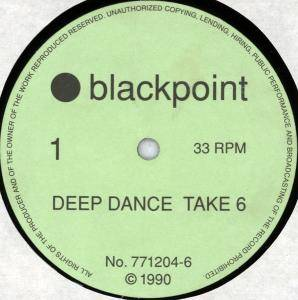 Cover - DJ Deep: Deep Dance Take 6