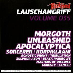 Rock Hard - Lauschangriff Vol. 035 (CD) - Bild 1