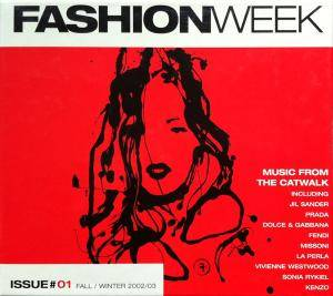 Cover - Bertrand Burgalat: Fashion Week - Issue #01