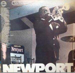 Newport Live Unreleased Highlights From 1956, 1958, 1963 - Cover