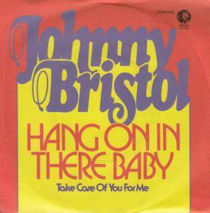 Cover - Johnny Bristol: Hang On In There Baby
