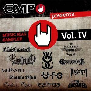 Cover - While She Sleeps: EMP Music Mag Sampler Vol. IV