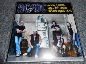 AC/DC: Rock N Roll Hall Of Fame 2003 Induction - Cover