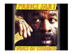 Cover - Prince Far I: Voice Of Thunder