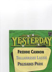 Cover - Freddy Cannon: Tallahassee Lassie/ Palisades Park